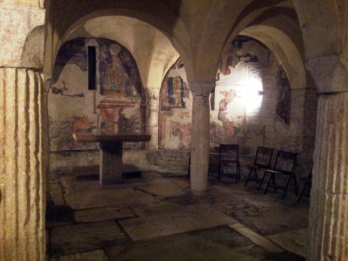 cripta s. ansano spoleto