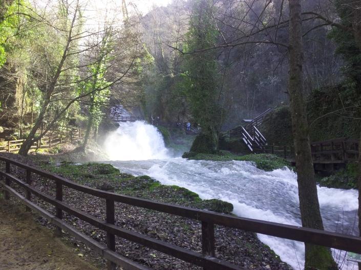 visitare cascata delle marmore